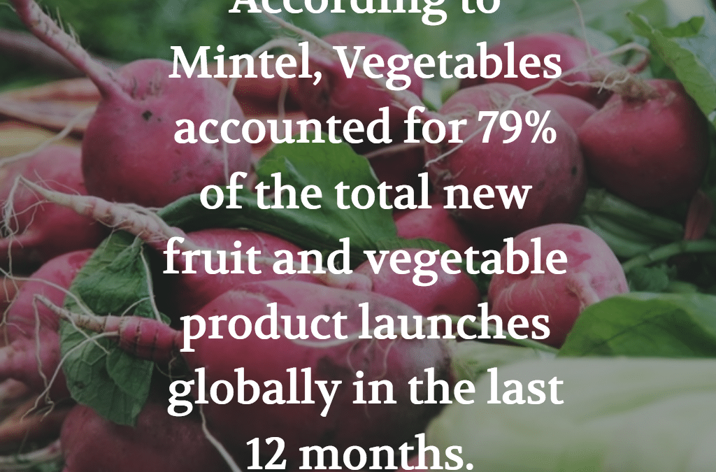 MINTEL TRENDS: FRUITS AND VEGETABLES