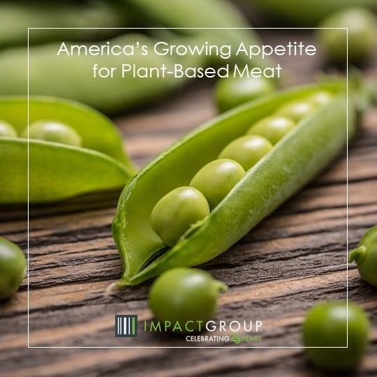 Veggie Alternatives At Brat Fest >> America S Growing Appetite For Plant Based Meat Impact Group